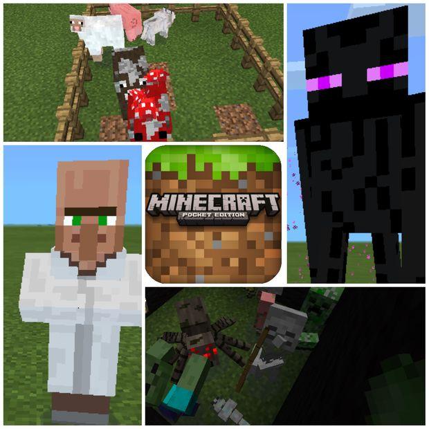 Monster In Minecraft Pe Genstrcom - Minecraft pe jetzt spielen