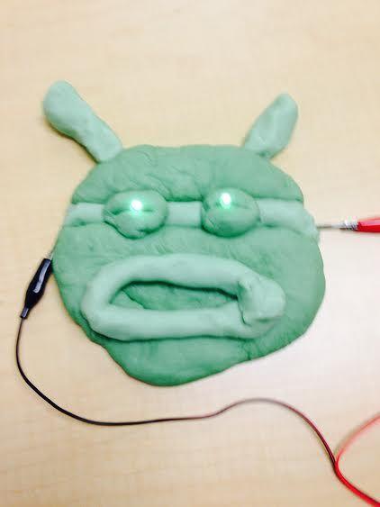 Heute Werden Wir Einen Interaktiven Leuchten Shrek Mit Hausgemachten Teig  Und Zwei LED Lichter Spielen Machen.