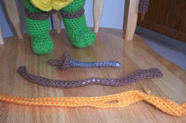 Teenage Mutant Ninja Turtle Häkeln Marionette Puppe Genstrcom