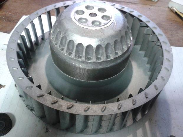 Fan reparatur für kondensator trockner aeg electrolux etc