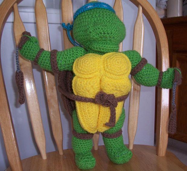 Teenage Mutant Ninja Turtle häkeln Marionette Puppe - genstr.com