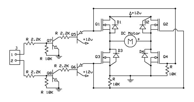 einfache dc-motor-controller