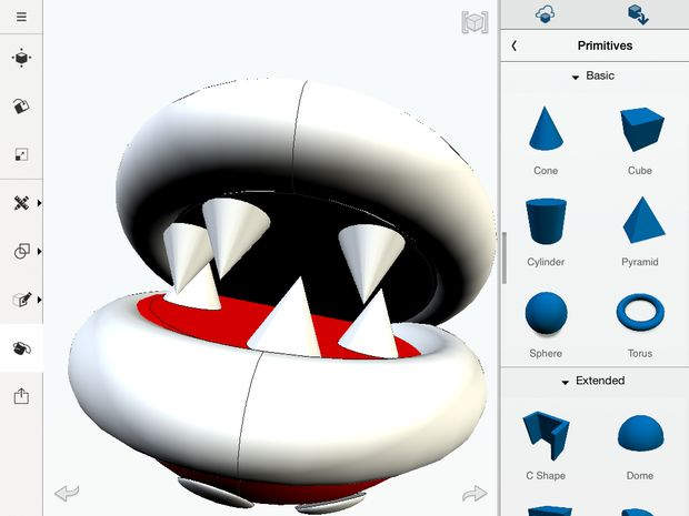 3D Printable Mario Sewer Pipe & Piranha-Pflanze - genstr.com