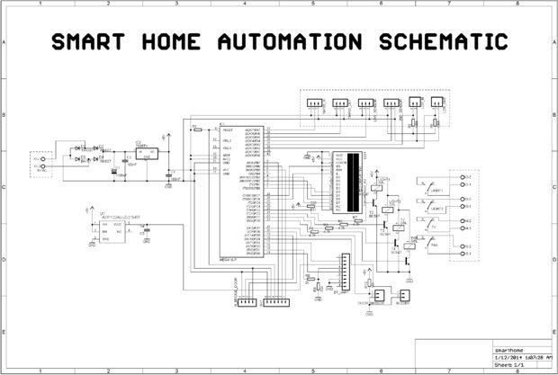 DIY Smart Home Automation mit Android / Schritt 3: Schaltplan ...