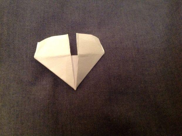 3d Modulare Origami Schwan Schritt 2 Falten Sie Das Modul
