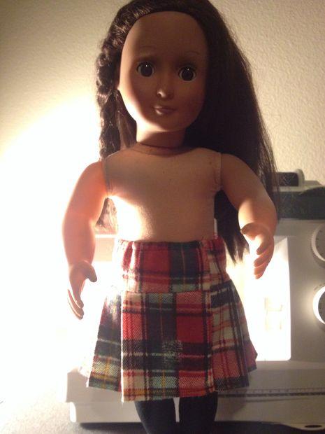 American Girl Puppe Kilt - genstr.com