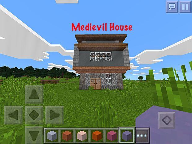 Medievil Minecraft PE Haus Genstrcom - Minecraft gute hauser bauen