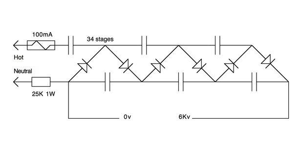 Hohe Spannung Power Supply für Marx Generator / Schritt 2 ...