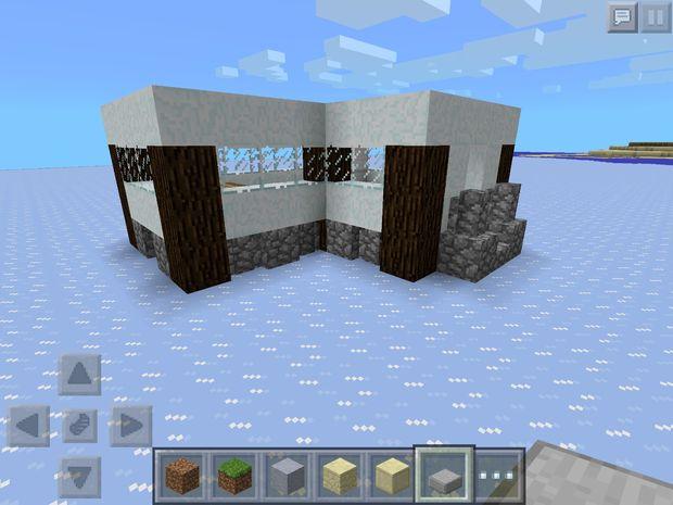 Minecraft Schnee Modernes Haus Genstrcom - Minecraft hauser kopieren