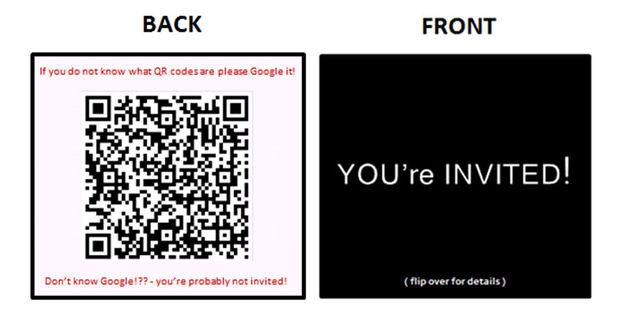 Diy Auf Moderne Einladungen Verwendung Von Visitenkarten