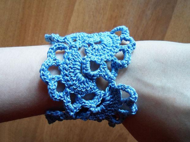 Blumen Häkeln Armband Genstrcom