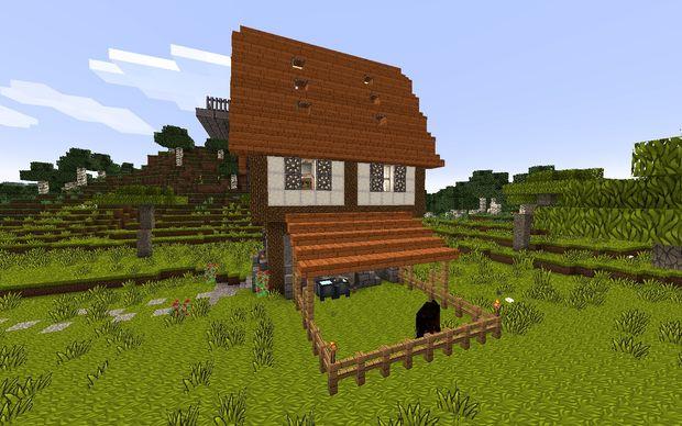 Wie Baut Man Eine Mittelalterliche Haus In Minecraft Genstrcom - Coole minecraft hauser mittelalter
