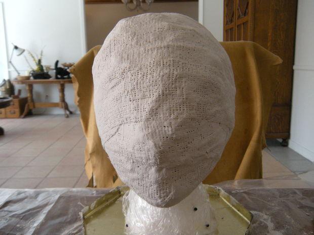 silent hill bubblehead krankenschwester maske schritt 3 gips und wasser. Black Bedroom Furniture Sets. Home Design Ideas