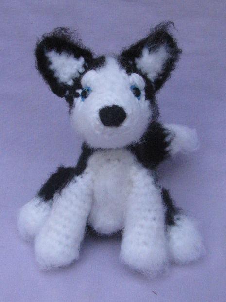 Crochet Extra Small Amigurumi Siberian Husky Part 1 of 2 DIY Video ... | 620x465