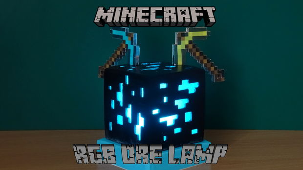 Rgb Minecraft Erz Lampe Genstr Com