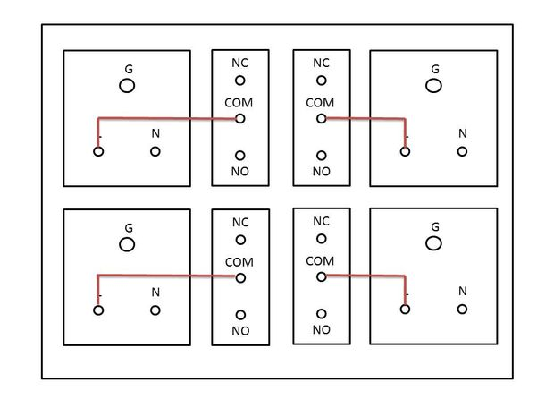 arduino nodemcu esp8266 basierte wifi smart 4 relais