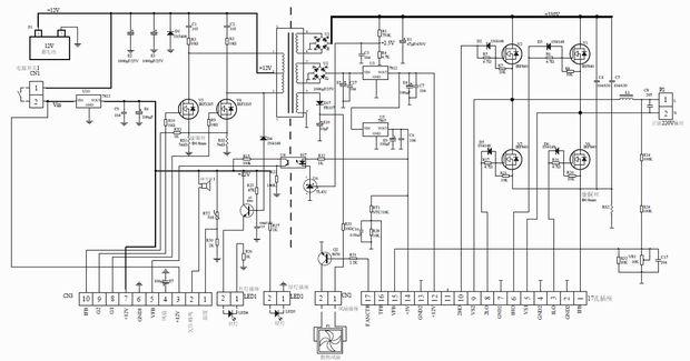 prototyping 1500 watt reinen sinus wechselrichter von dc