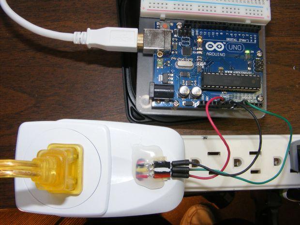 Vereinfachte arduino wechselstrom messung mit acs hall effekt