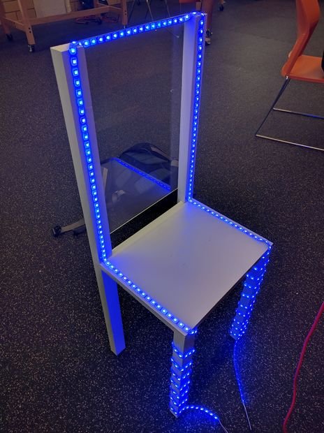gesteuert und Stuhl System Arduino LED Gaming nPk0w8OX
