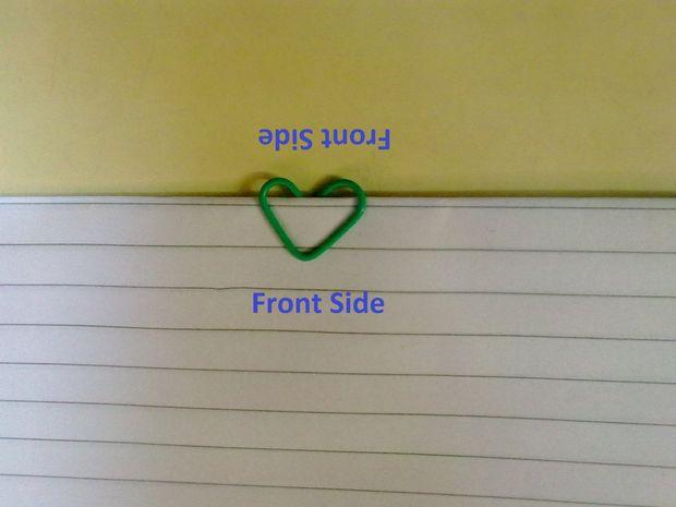 Romantische Herzen Geformt Buroklammer Schritt 2 Biegen Um Sie