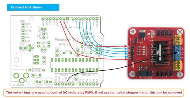 Arduino-Module - L298N Dual H-Brücke-Motor-Controller / Schritt 2 ...