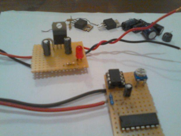 Elektronik-Projekte mit geborgenen Teile - genstr.com