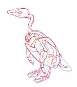 Wie Einen Pinguin Zeichnen Schritt 4 Genstr Com
