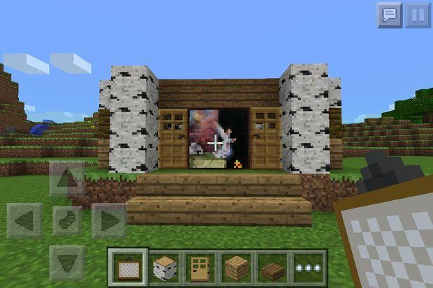 MinecraftHolzHaus Genstrcom - Minecraft hauser aus holz