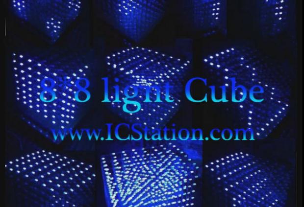 3d lightsquared 8 x 8 x 8 led cube l ten schritte. Black Bedroom Furniture Sets. Home Design Ideas