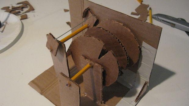 Gewusst Wie Ein Karton Kombination Schloss Bauen Genstrcom