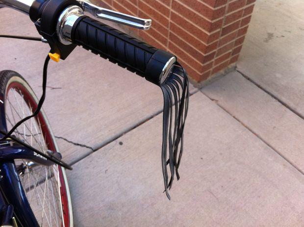 Super Einfache Lenker Quasten Aus Einen Fahrrad Schlauch Genstrcom