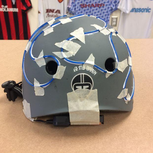 EL-Wire Fahrradhelm / Schritt 3: Beginnen Sie, erstellen Ihr design ...