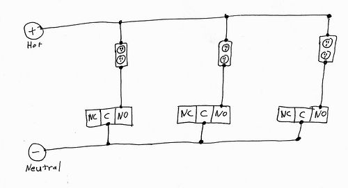 Gesang-Kürbisse/Parallel-Port-Relais-Box / Schritt 7: Draht, die ...