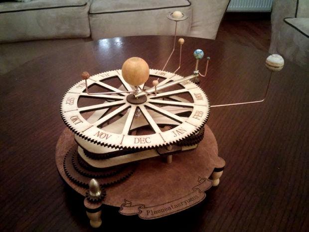 Sonnensystem Uhr