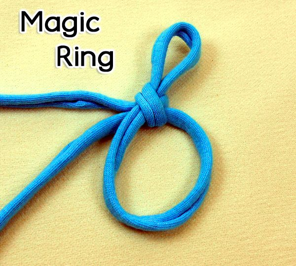 Gewusst Wie Magic Ring Verstellbarer Ring Zauberkreis Magic Loop