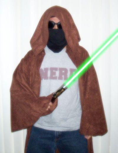 Ein Jedi oder Harry Potter Robe oder Mantel Nähen - genstr.com
