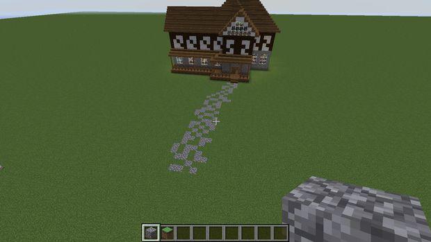 Minecraft Fachwerkhaus Schritt 5 Landschaftsbau Genstr Com