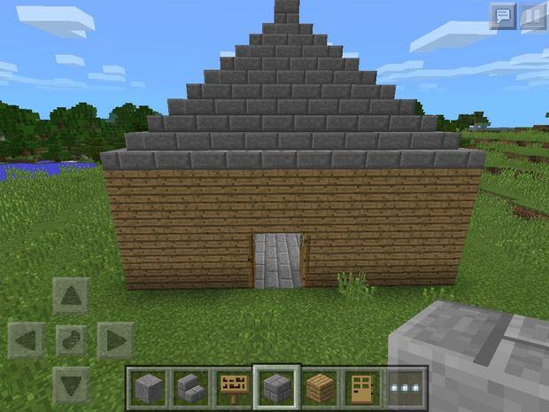 MinecraftLuxusHaus Schritt Dach Genstrcom - Minecraft hauser aus stein