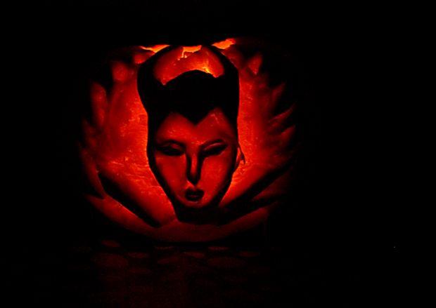 Maleficent Halloween Kurbis Genstr Com