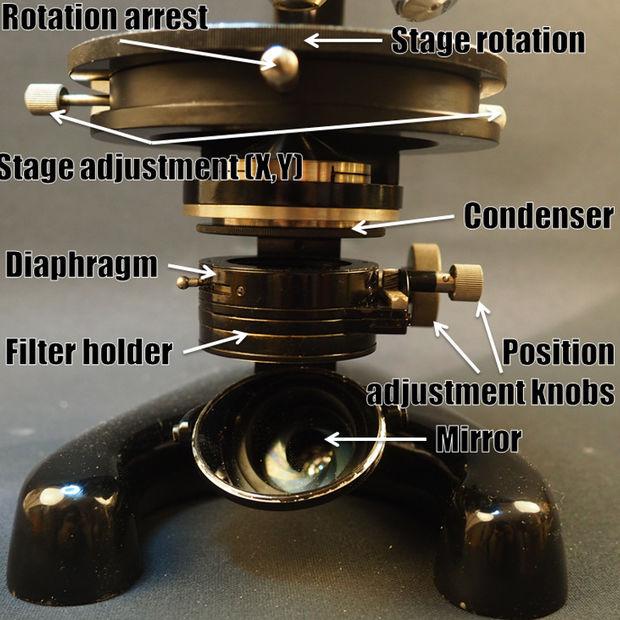 Wiederbelebung einer alten Mikroskop: gründliche Reinigung, neue ...