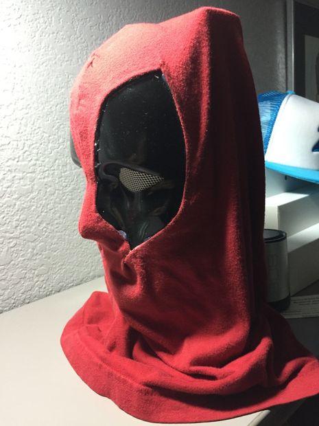 Deadpool Maske / Schritt 4: Schritt 3: Stoff-Arbeit - genstr.com