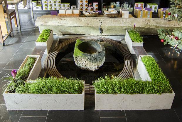 ShapeCrete:: Hypertufa / Beton Pflanzgefäße für Tee-Shop Teance ...
