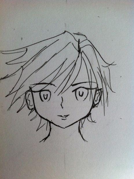 Gewusst Wie Zeichnen Sie Ein Anime Gesicht Weiblich Schritt 14