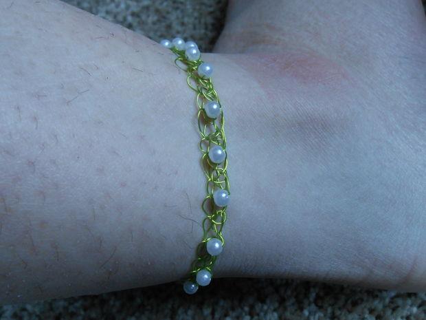 Fußkettchen Perlen Genstrcom