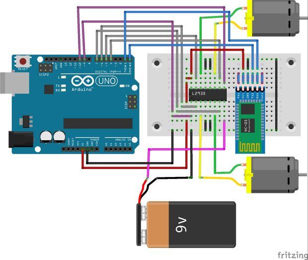 Android gesteuerten Roboter für Anfänger (A bis Z) / Schritt 4 ...
