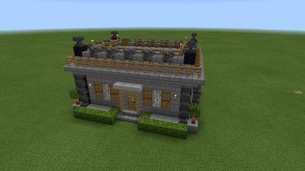 Minecraft PE Mittelalterliche Haus Genstrcom - Minecraft schone einfache hauser