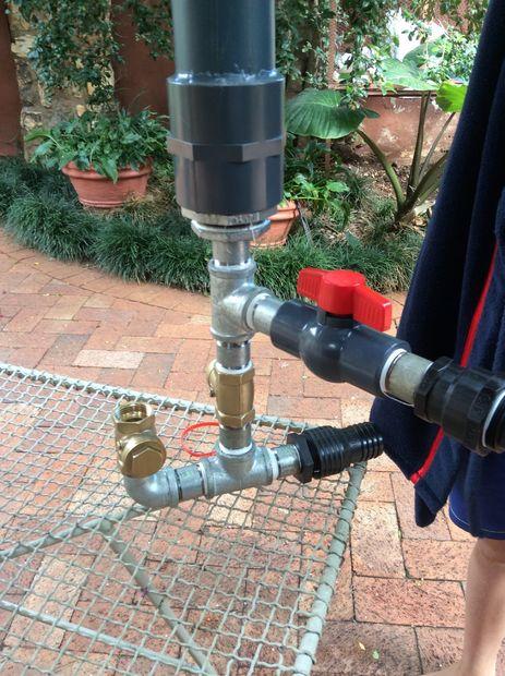wasser heben ohne pumpe