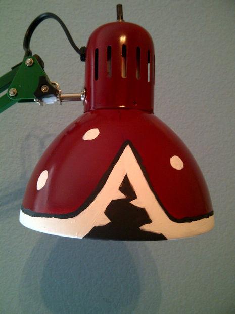 Super Mario Piranha Pflanze Lampe von $10 IKEA Lampe ...