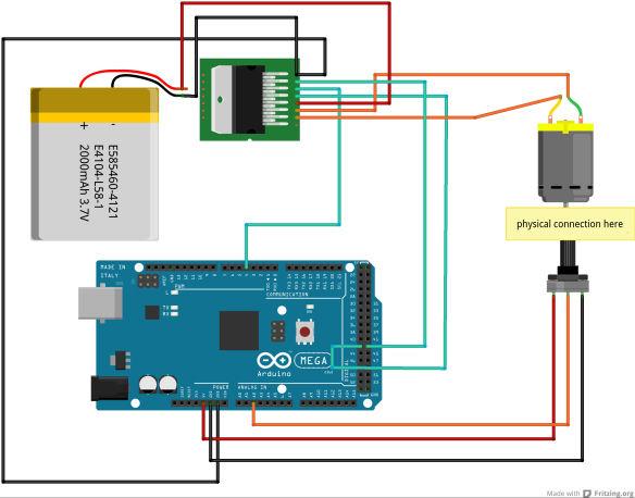 DIY-Servo-Motor / Schritt 3: Schaltplan - genstr.com